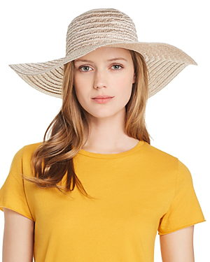 03768c3e5 Metallic Floppy Sun Hat in Gold