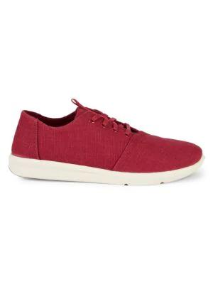 Toms Del Rey Canvas Sneakers In Dark Red