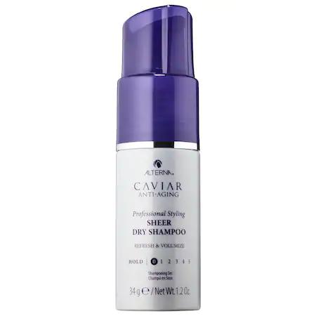 Alterna Haircare Caviar Anti-aging® Sheer Dry Shampoo Powder Spray 1.2 oz/ 34 G