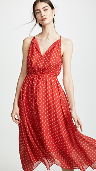 9def9030d9 Joie Matalina Dress In Tropic Red