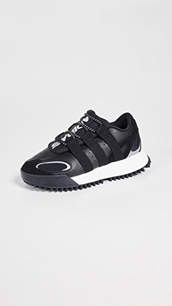 7931d0570 Adidas Originals By Alexander Wang Aw Wangbody Run Sneakers In Core Black