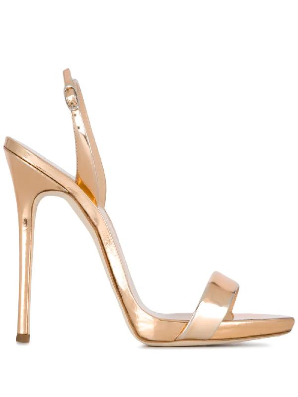 98b9db96a11b7 Giuseppe Zanotti Strappy Sandals In Gold | ModeSens
