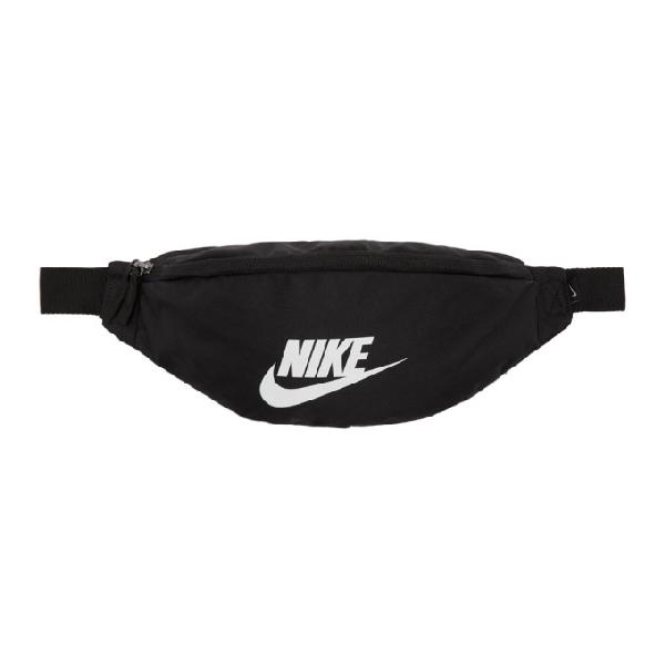Nike Black Heritage Fanny Pack