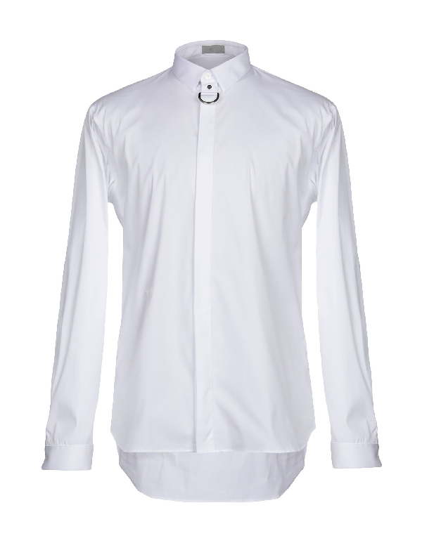Dior Solid Color Shirt In White