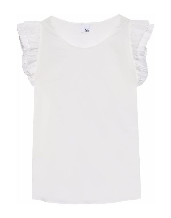 Iris & Ink Blouse In White