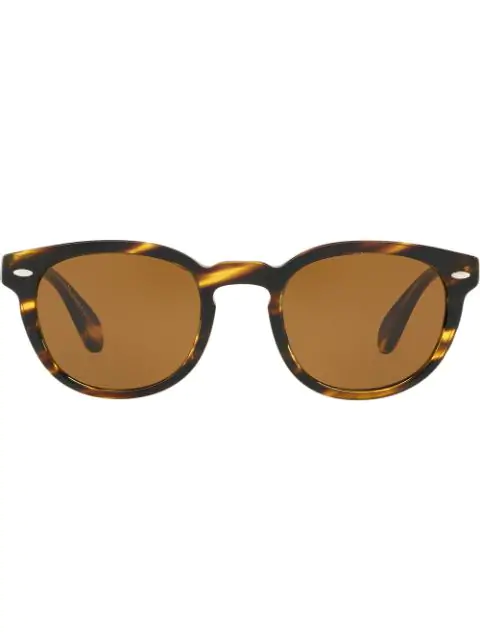 Oliver Peoples Tortoiseshell Sheldrake Sunglasses In 100353 Cocobolo