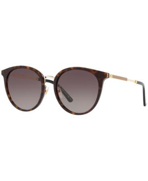 Gucci Sunglasses, Gg0204Sk In Brown / Brown Gradient