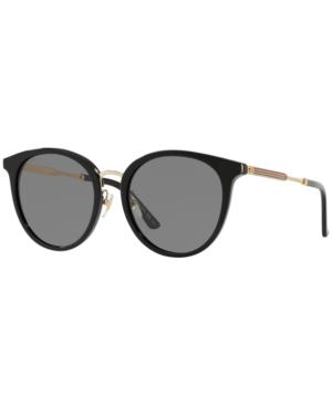 Gucci Sunglasses, Gg0204Sk In Black / Gray