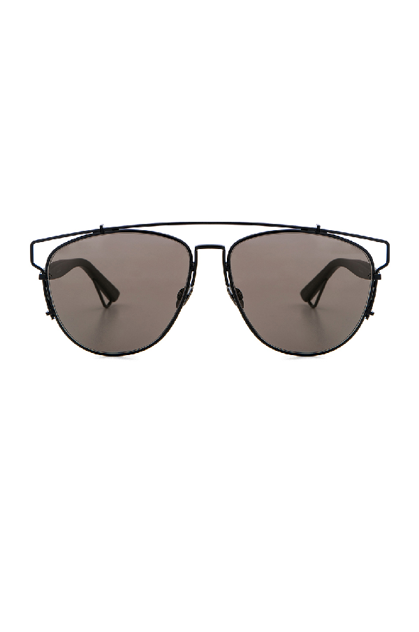 77a5b6f98d80 Dior Technologic 57Mm Brow Bar Sunglasses - Dark Ruthenium/ Pink In Black &  Gray