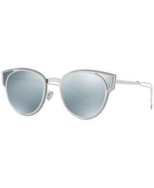 d2893e1fa Dior Sculpt Cat Eye Mirrored Sunglasses, 50Mm In Gray / Silver Mirror