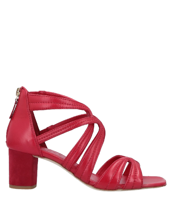 Sandro Sandals In Red