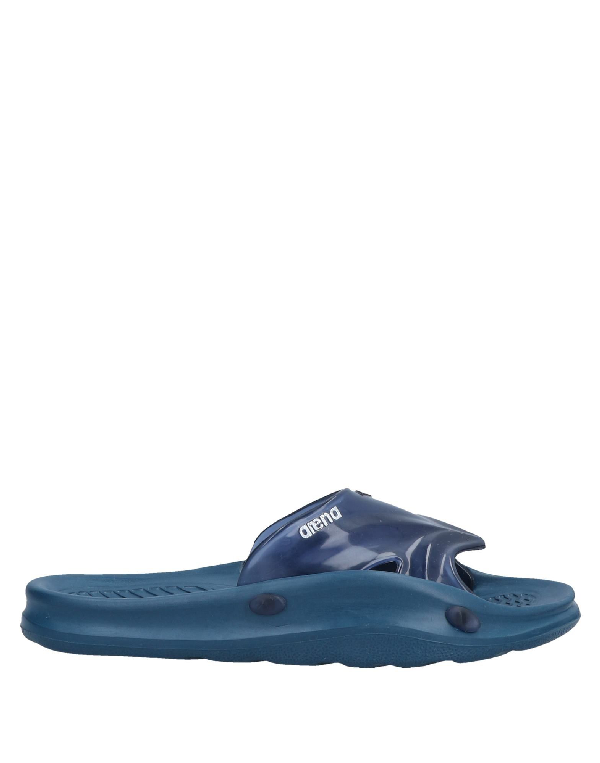 335eb07bb97 Arena Slippers In Blue
