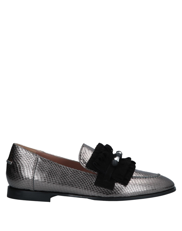 Pollini Loafers In Bronze