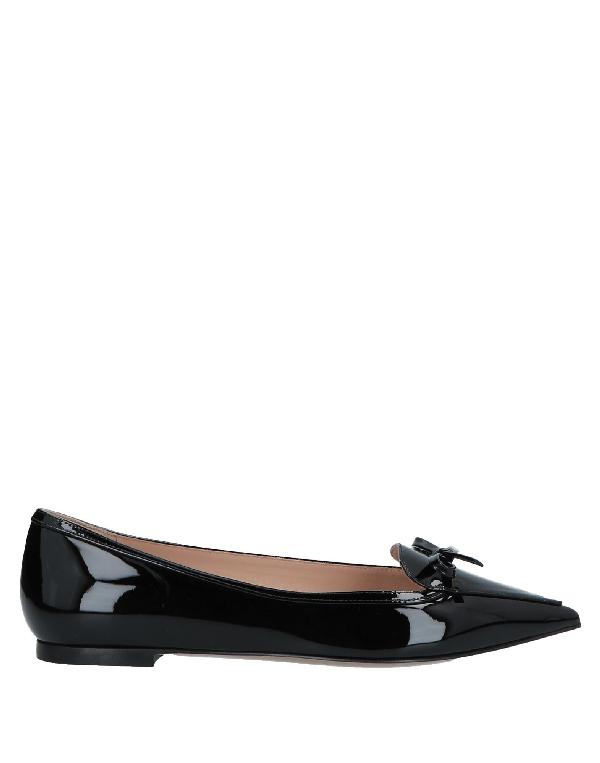 Valentino Loafers In Black