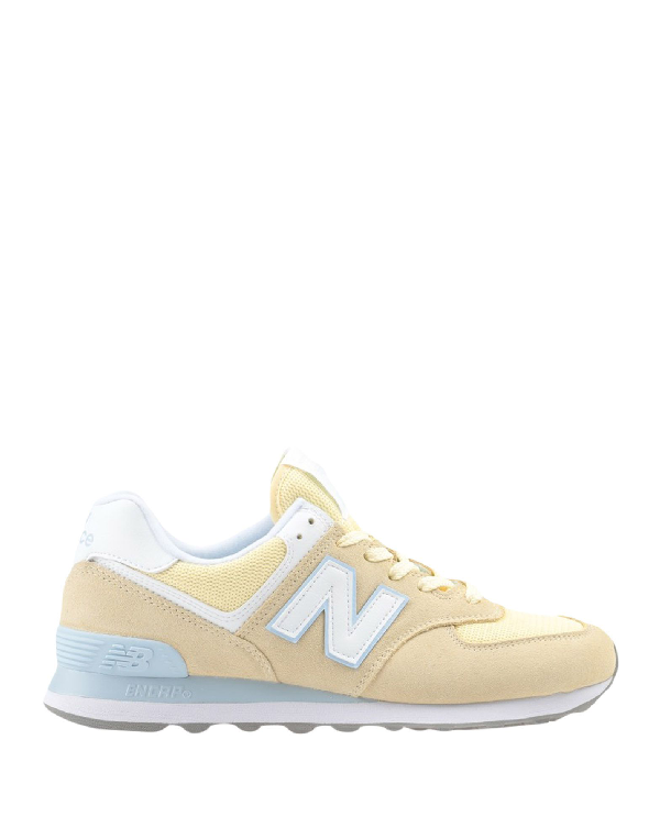 Sneakers In Light Yellow