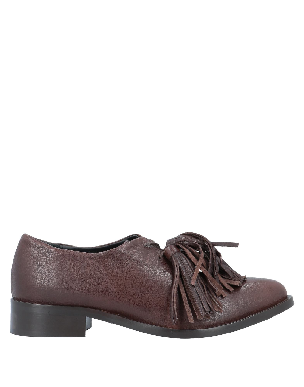 Alysi Laced Shoes In Dark Brown