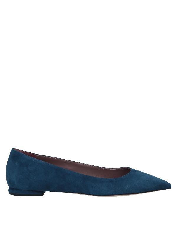 Deimille Ballet Flats In Dark Blue