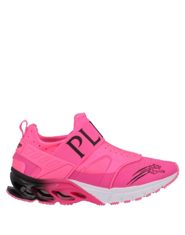 Plein Sport Sneakers In Fuchsia