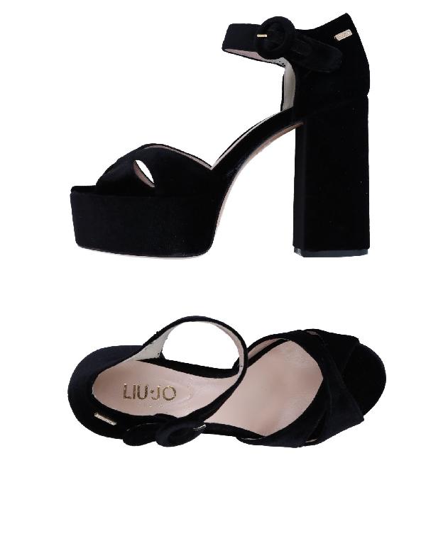 Liu •jo Sandals In Black