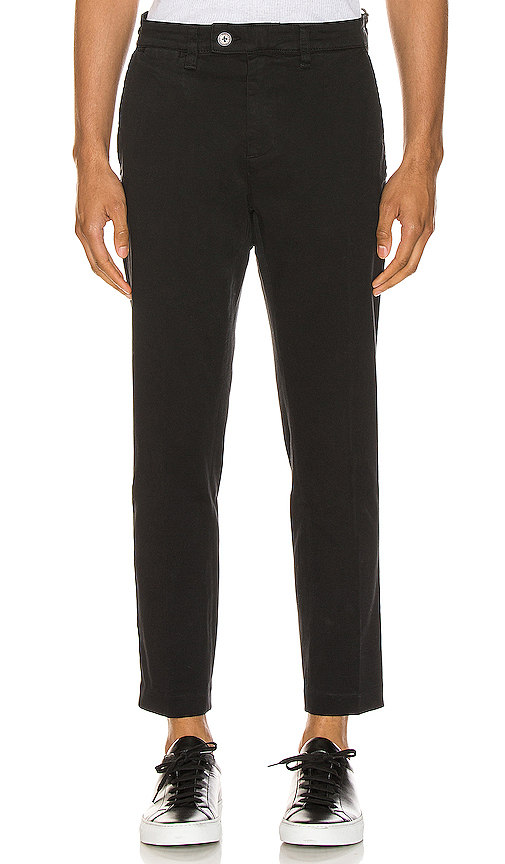 Rolla's Relaxo Cropped Pant In Black