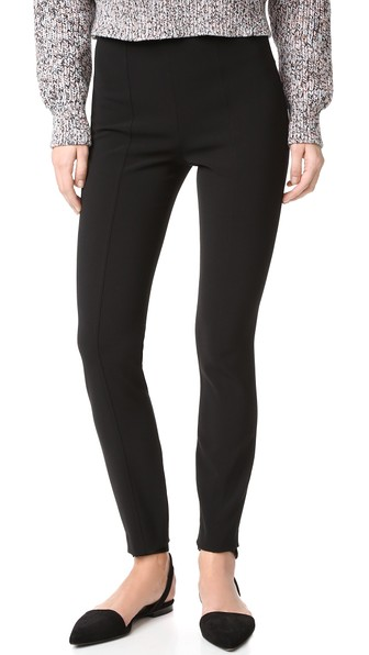 40ac9bd3a44643 T By Alexander Wang High Waisted Fitted Pant In Black | ModeSens
