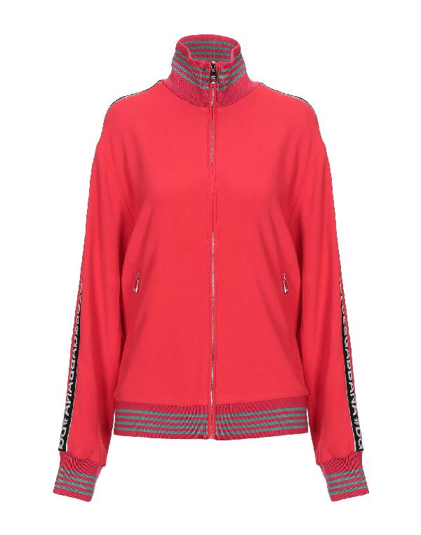 Dolce & Gabbana Sweatshirt In Red