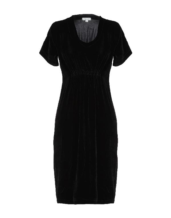 Crossley Knee-length Dress In Black