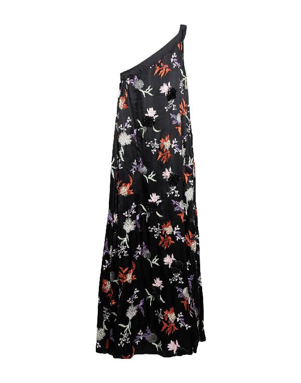 Osman Long Dress In Black