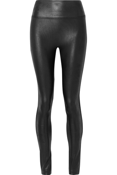 bbbf8d53d66f8 Spanx Ready-To-Wow&Trade; Faux-Leather Leggings, Black | ModeSens