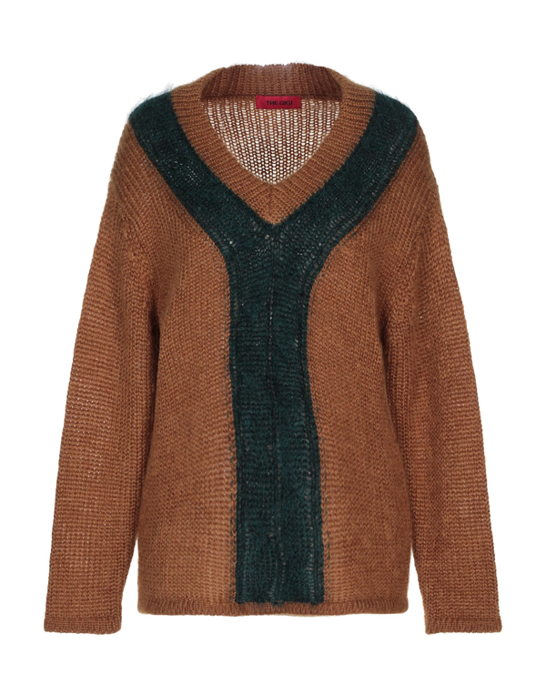 The Gigi Sweater In Brown