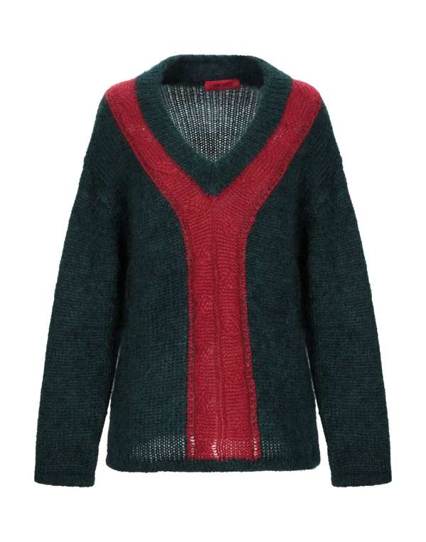 The Gigi Sweater In Red