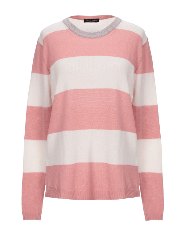 Roberto Collina Cashmere Blend In Pink