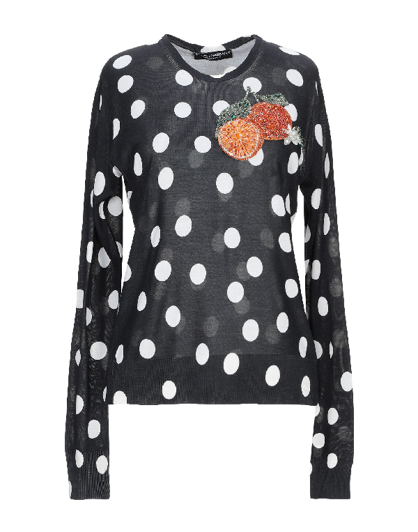 Dolce & Gabbana Sweater In Black