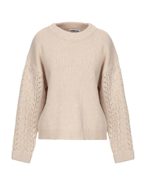 Essentiel Antwerp Sweater In Beige