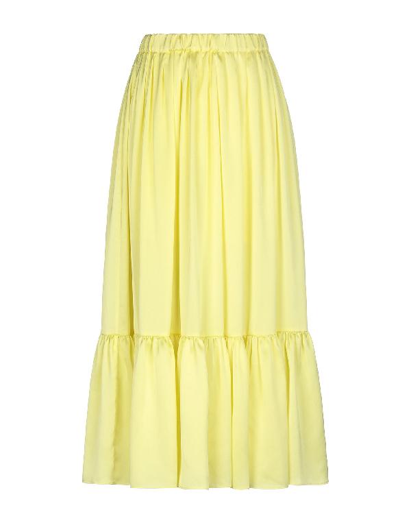 Neul Midi Skirts In Yellow