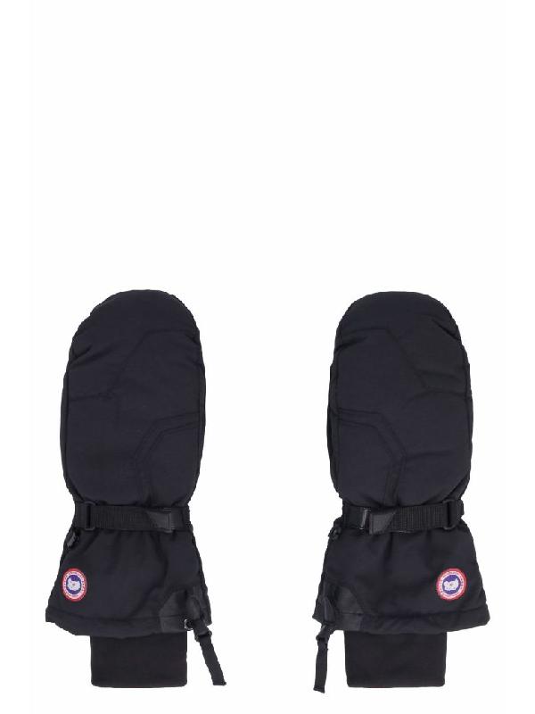 Canada Goose Arctic Down Gloves In Black