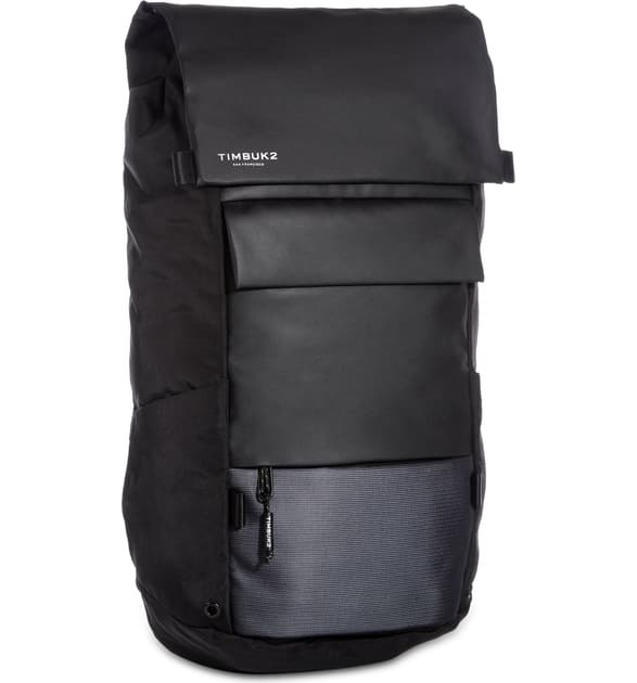 Timbuk2 Robin Water Resistant Laptop Backpack In Jet Black