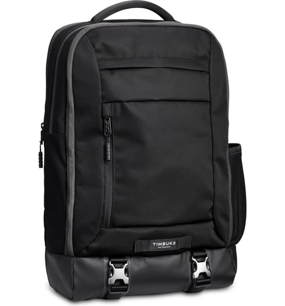 Timbuk2 Authority Deluxe Backpack In Jet Black