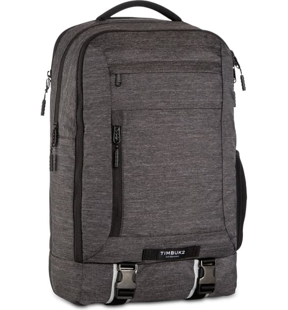 Timbuk2 Authority Backpack In Jet Black Static
