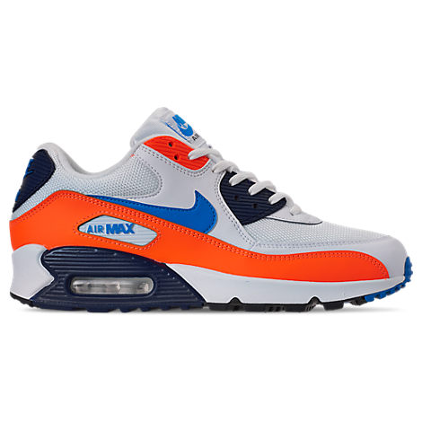 check out 32c8b 3a7fb Men's Air Max 90 Essential Casual Shoes, White - Size 10.5