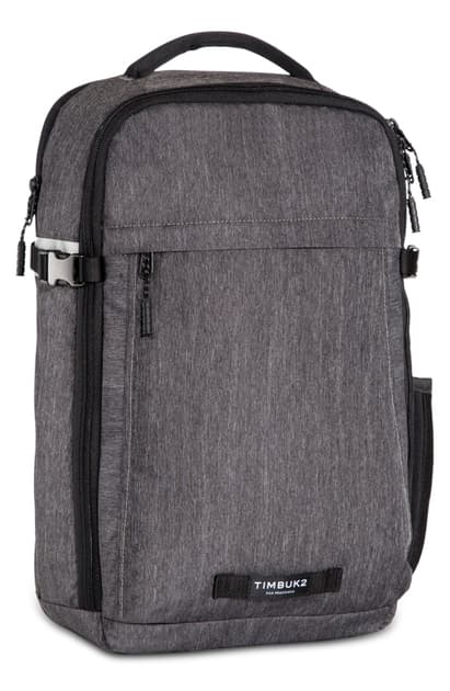 Timbuk2 Division Water Resistant Laptop Backpack In Jet Black Static