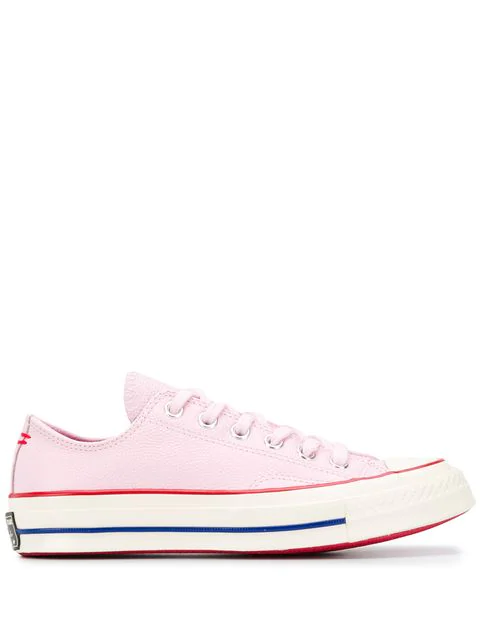 Converse Chuck Taylor All Star Chuck 70 Ox Leather Sneaker In Pink
