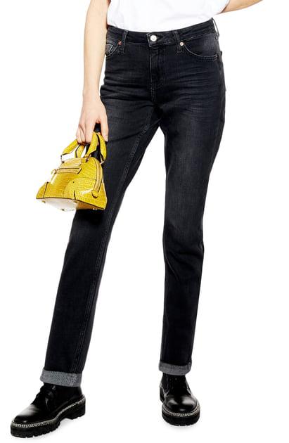unique design affordable price high fashion Topshop Lucas Boyfriend Jeans In Washed Black | ModeSens