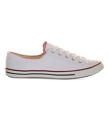 Converse Ctas Fancy Low-Top Trainers In Optic White
