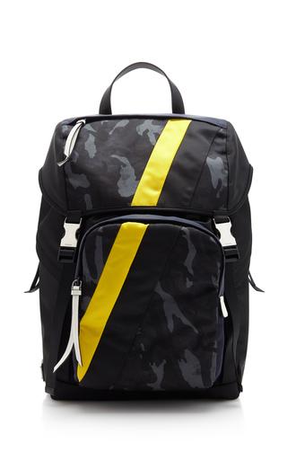 Prada Printed Nylon Backpack