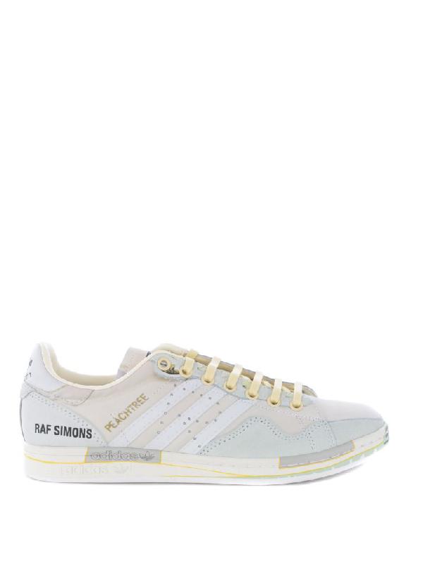 Raf Simons Sneakers In Avorio/verde