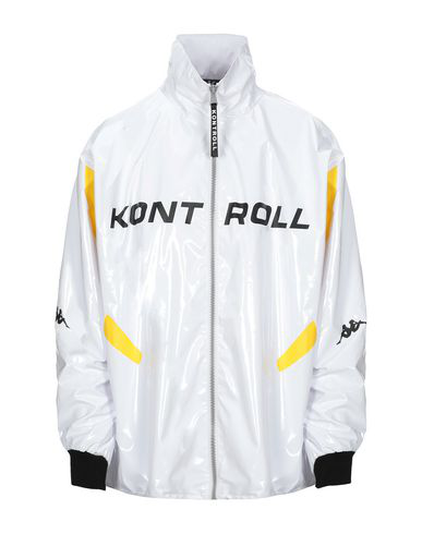 Kappa Jacket In White