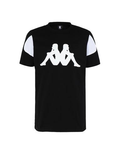 Kappa Short Sleeve T-shirt In Black