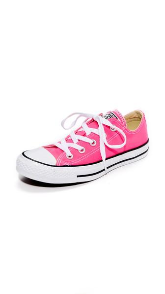Converse Chuck Taylor All Star Seasonal Ox Low Top Sneaker In Pink Pow