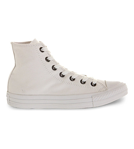 Converse All Star Mono Ox High-Tops In White Mono Exclusive